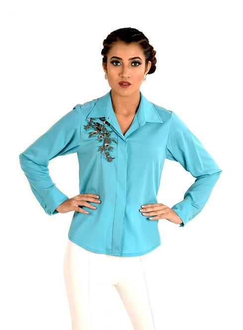 Olivia Blue Shirt