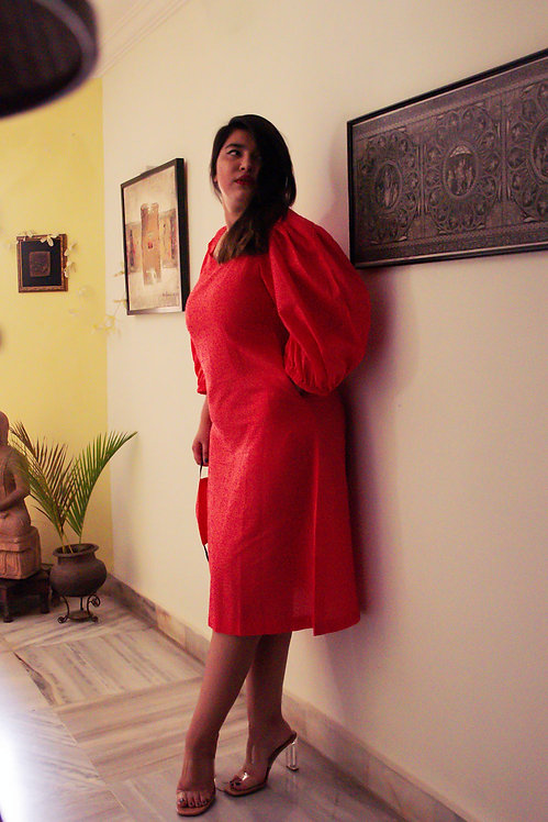 Wild Rose Pink Dress