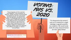 Annie Peck, on Voting