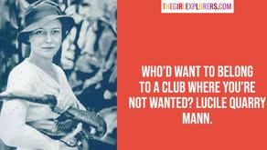 Lucile Quarry Mann Quote