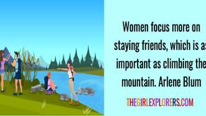Arlene Blum, Mountain Climber Quote