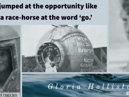Gloria Hollister, on Opportunity
