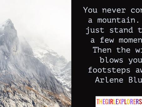 Arlene Blum, Erased Footsteps