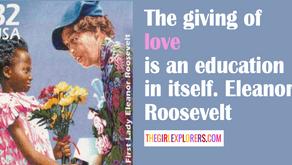 Eleanor Roosevelt Love Quote