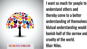 Blair Niles, Compassion Quote