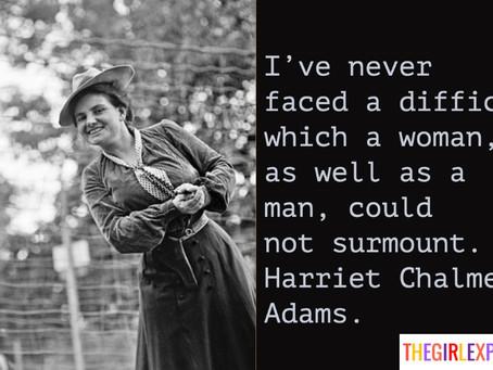 Harriet Chalmers Adams Quote