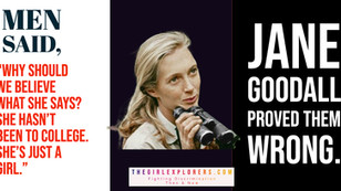 """Jane Goodall on """"Just a Girl"""""""