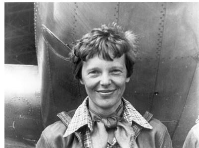 Amelia Earhart Kicks Butt