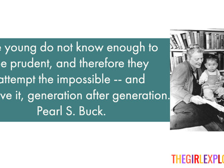 Pearl S. Buck, on Youth