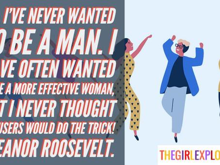 Eleanor Roosevelt and Men Quote