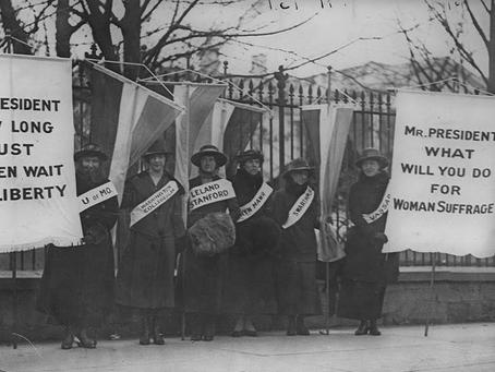 Ella Riegel, Iron-Jawed Suffrage Angel