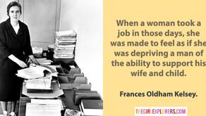 Frances Kelsey, on Sexism