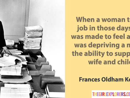 Frances Kelsey, on Sexism