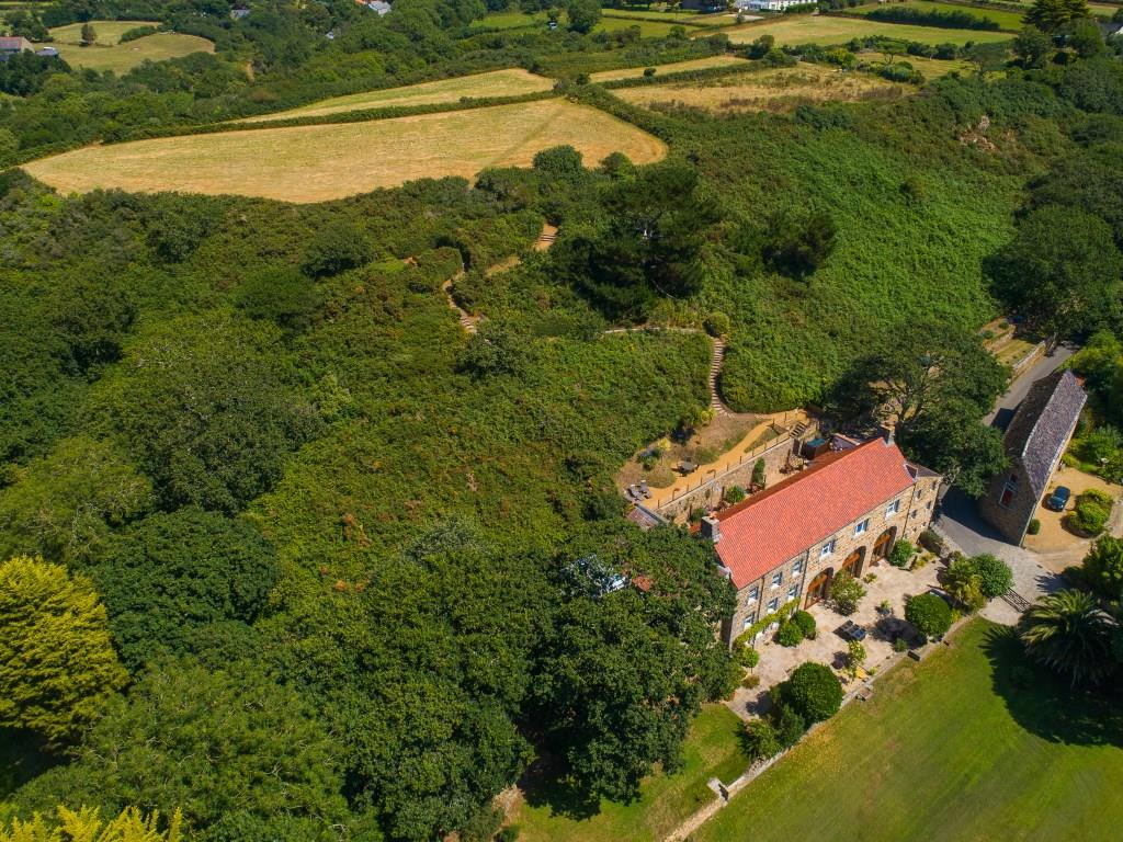 The Granary from above