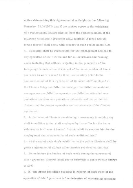 2.Official agreement Oct 1969