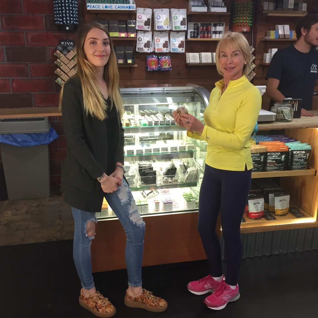 Paxton in Cannabis Dispensary