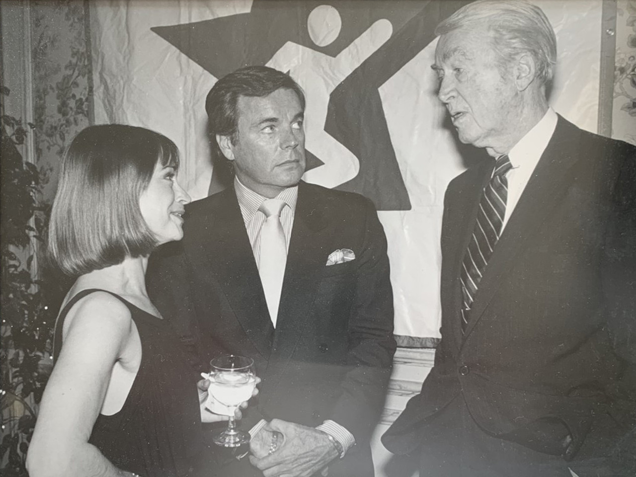 Paxton with Robert Wagner