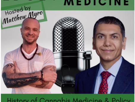 Listen to Dr. Ahmad on Edge of Cannabis Medicine