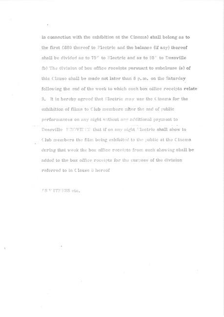 3.Official agreement Oct 1969