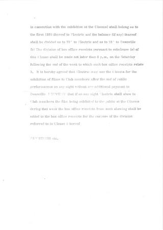 3. Official agreement Oct 1969
