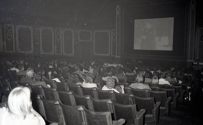 Screening the last film