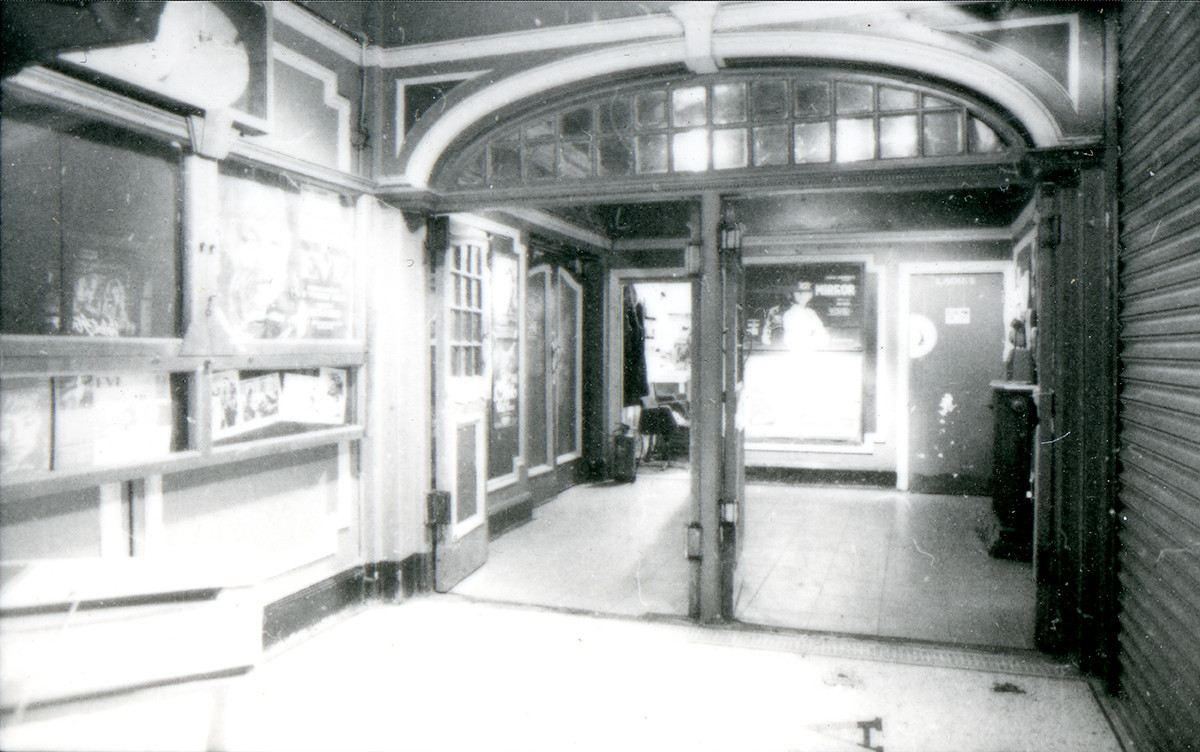 Foyer from the box office.