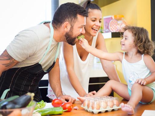 La importancia de enseñar hábitos saludables a los niños