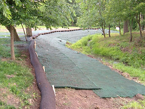 BMP Fibre-tube is a sturdy polypropylene geotextile (woven) that has been engineered specifically for erosion control and containing and/or retaining sediment in disturbed areas.
