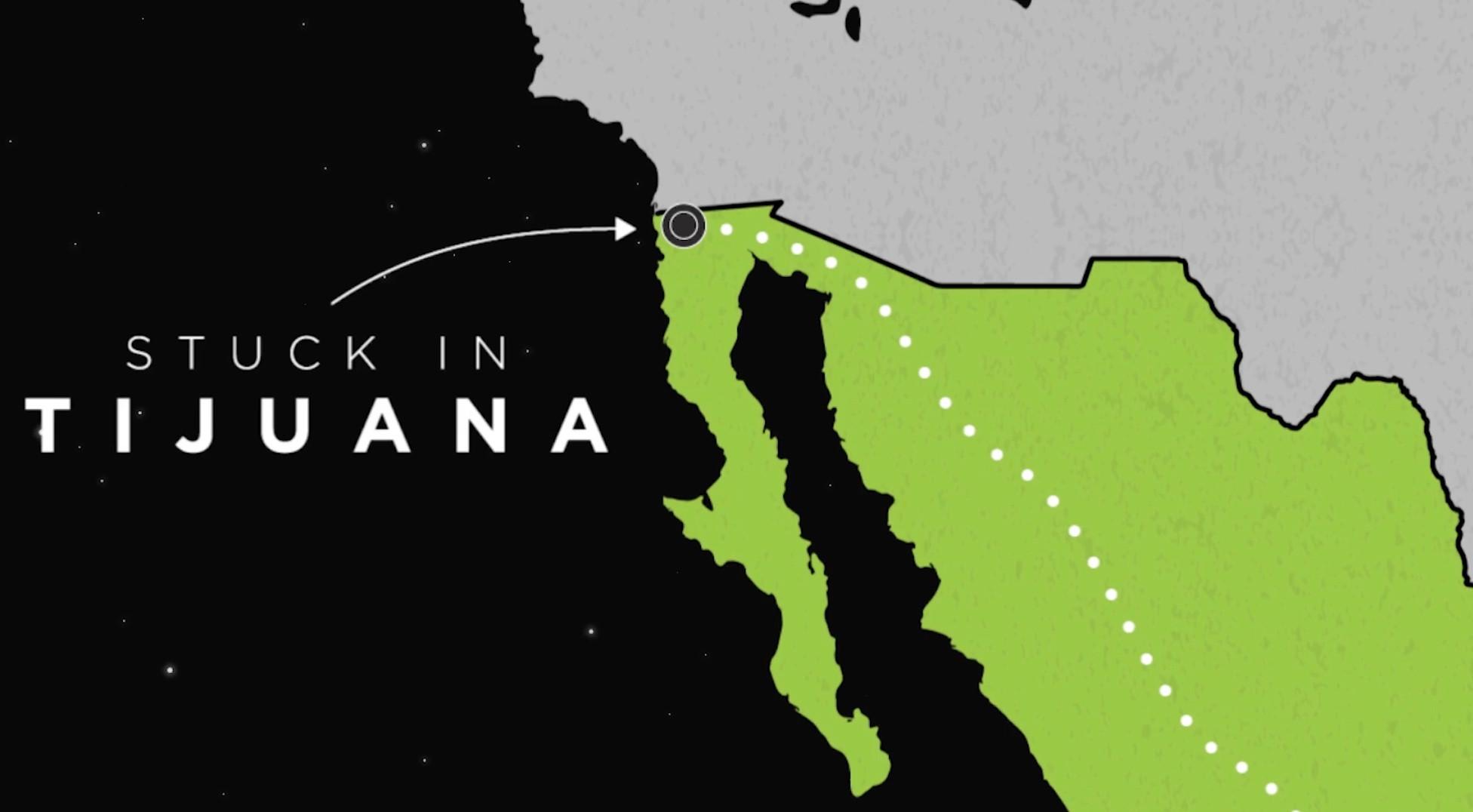 4000 haitians in tijuana