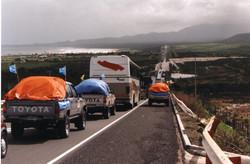 El Nino destroys Chile's bridges