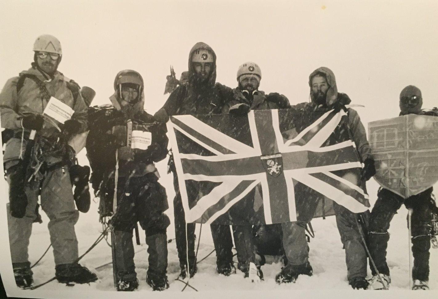 Summit of Chimborazo, Ecuador