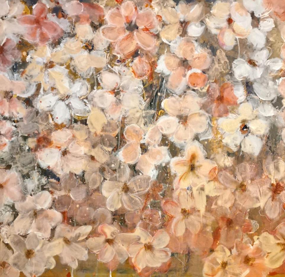 -Blossom Rain- original Gemälde