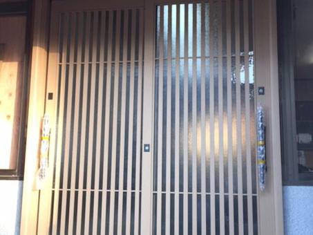 かんたんドアリモ【玄関引戸】(つくば市)