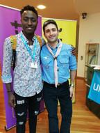 David, U-Ambassador, Scout