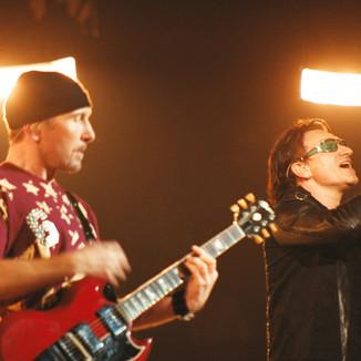 The Edge and Bono - U2