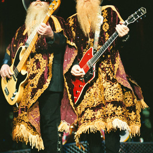 Dusty Hill and Billy Gibbons - ZZ Top