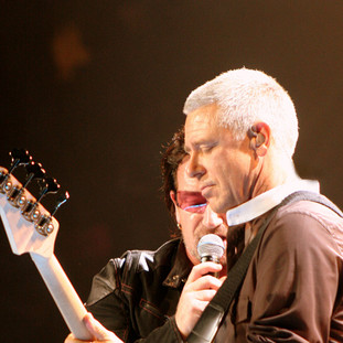 Bono and Adam Clayton - U2