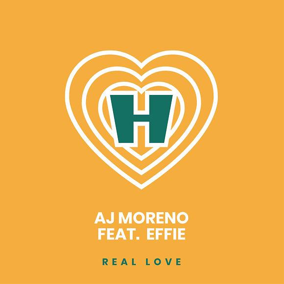 AJ Moreno feat. Effie - Real Love single