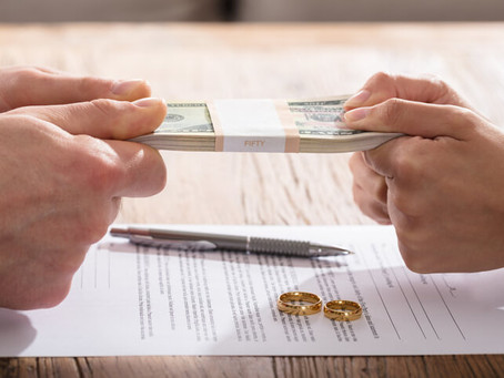 Liquidating Assets Prior to Divorce