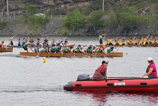 War Canoe Race Dartmouth