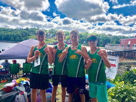 Boys at regatta 2019
