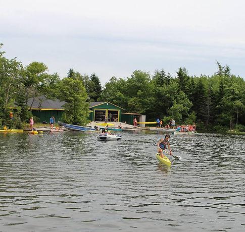 Abenaki Bell Lake Paddling