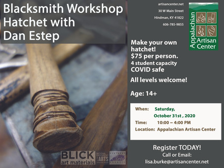 Hatchet Workshop with Dan Estep