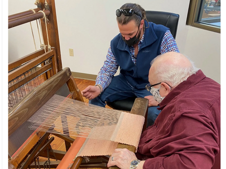Fiber Arts: Anthony Carter feature in Carter County News