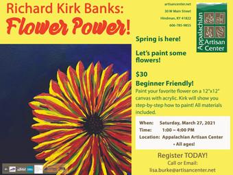 Richard Kirk Banks: Flower Power!