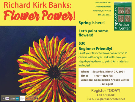 Richard Kirk Banks: Flower Power!