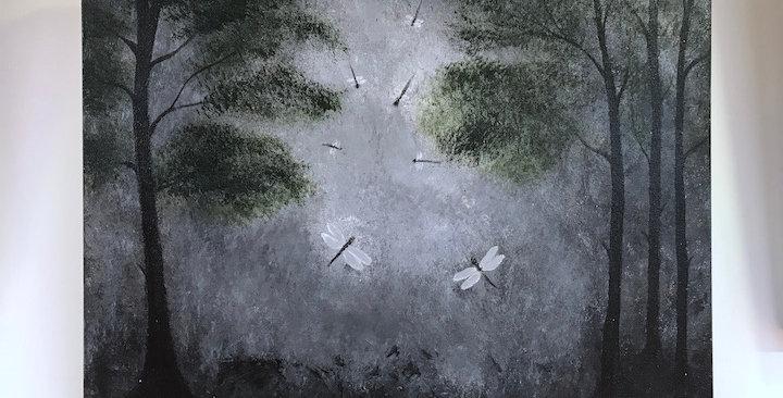 """Rhonda Heinze """"Dream of Drangonflies"""""""