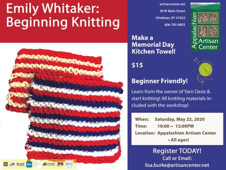 Emily Whitaker: Beginning Knitting