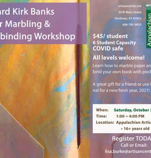 Marbling Paper & Book Binding Workshop