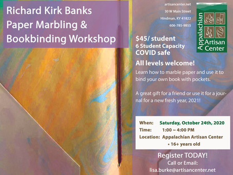 Marbling Paper & Book Binding Workshop